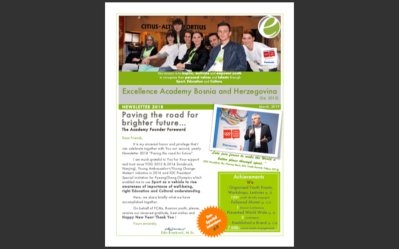 Excellence-Academy-Newsletter-2018